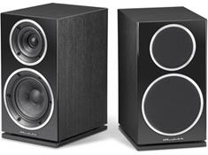 on a pair of Wharfedale speakers