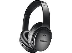 on a pair of Bose® QuietComfort® 35 wireless headphones II