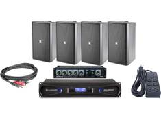 JBL Pro Gym Sound System Bundle