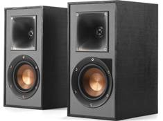 on a pair of Klipsch R-41PM powered bookshelf speakers, now $319.99