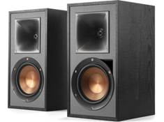 on a pair of Klipsch Reference R-51PM powered bookshelf speakers, now $449.99 — Ends 4/27