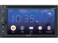<span class='specials-prod-title'>Sony XAV-AX210SXM</span><span class='specials-prod-subtitle'>DVD receiver with free SiriusXM satellite radio tuner</span>