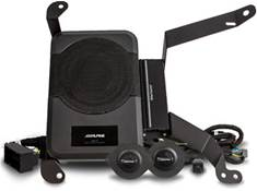 <span class='specials-prod-title'>Alpine Restyle PSS-23WRA</span><span class='specials-prod-subtitle'>Direct-fit powered audio upgrade package for select 2018-up Jeep Wrangler Unlimited JL models</span>