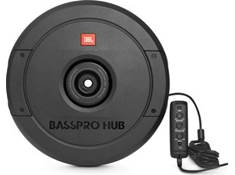 "<span class='specials-prod-title'>JBL BassPro Hub</span><span class='specials-prod-subtitle'>Powered 11"" subwoofer enclosure with 200-watt amp — mounts to hub of spare tire</span>"