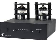 <span class='specials-prod-title'>Pro-Ject Tube Box S2</span><span class='specials-prod-subtitle'>Vacuum tube phono preamplifier for moving magnet and moving coil cartridges</span>
