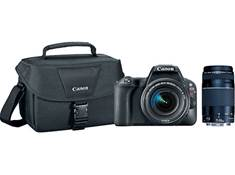 on a Canon EOS SL2 two-lens bundle, now $699.99