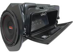 "<span class='specials-prod-title'>SSV Works RZ4-GB10A</span><span class='specials-prod-subtitle'>Custom-fit subwoofer enclosure with SSV Works 10"" subwoofer — replaces glove box in select 2018-up Polaris RZR