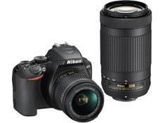 on a Nikon D3500 two lens kit, now just $446.95 — Ends 6/29