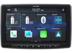 "<span class='specials-prod-title'>Alpine iLX-F259</span><span class='specials-prod-subtitle'>Digital multimedia receiver — a 9"" touchscreen that fits in a DIN dash opening (does not play CDs)</span>"