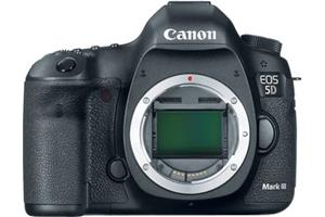 Canon EOS 5D Mark III (no lens included)
