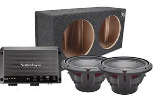 Rockford Fosgate 1200-Watt Bass Package