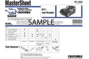 2007 2014 toyota fj cruiser car audio profile crutchfield car audio installation instructions