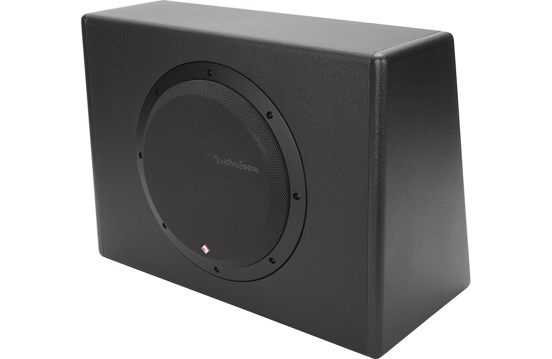 rockford fosgate p300 10 300w single 10 amplified. Black Bedroom Furniture Sets. Home Design Ideas