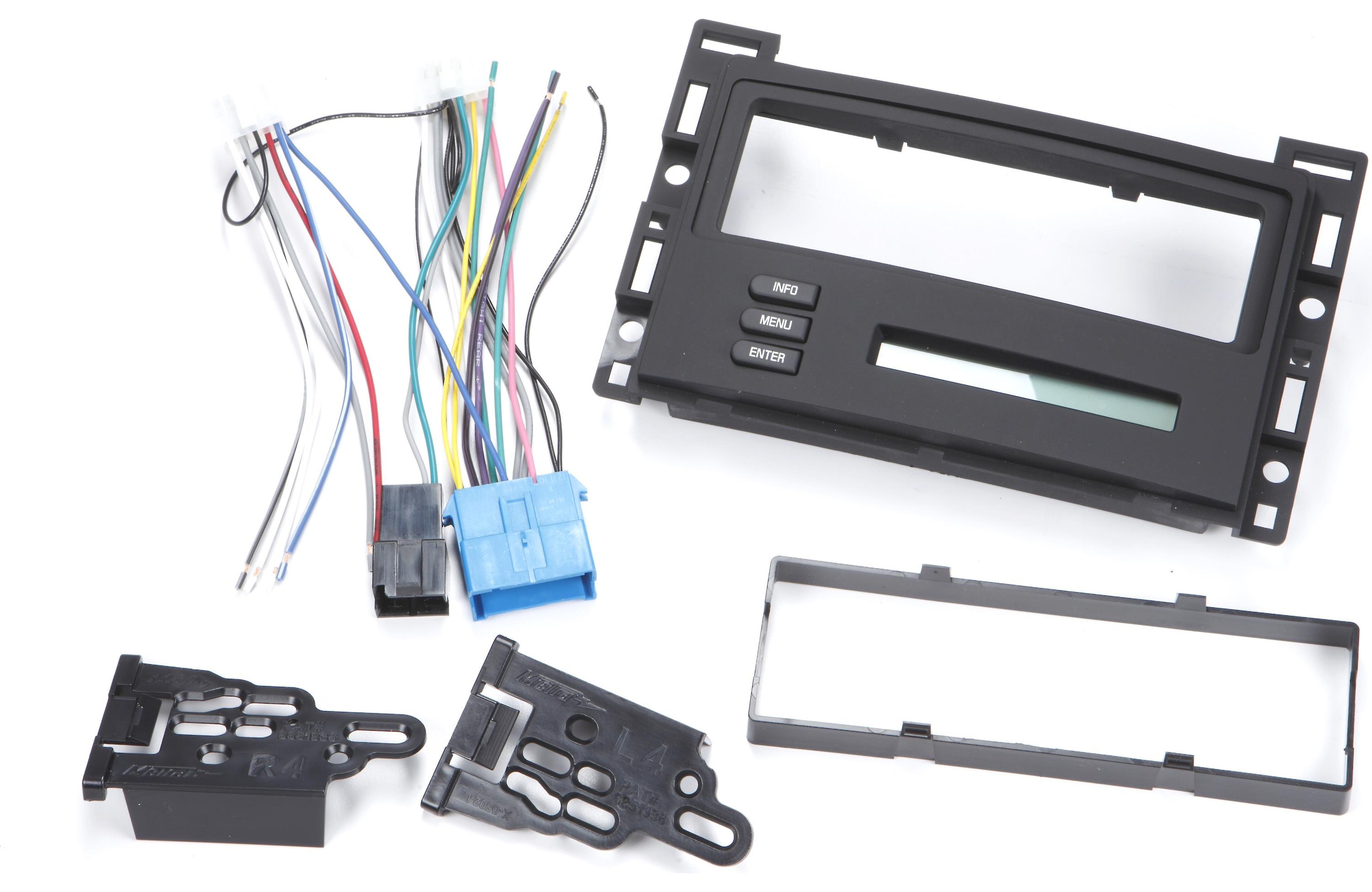 Metra 95 3303b Double Din Stereo Dash Kit For Chevy Malibu Cobalt Pontiac G6 Ebay