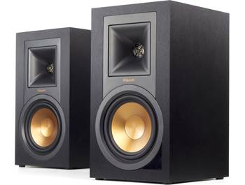 on a pair of Klipsch Reference R-15PM powered bookshelf speakers, now just $249