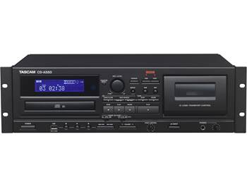 on a Tascam CD-A580 professional CD player/cassette recorder with USB dubbing
