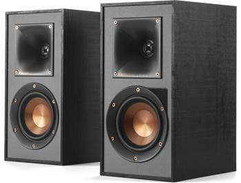 on a pair of Klipsch Reference R-41PM powered speakers, now $299