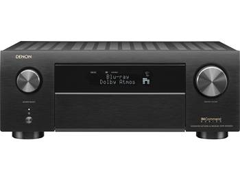 on a Denon AVR-X4500H 9.2-channel home theater receiver