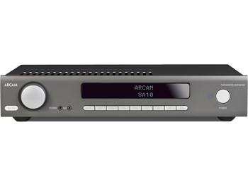 on an Arcam SA10 stereo integrated amplifier