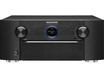 on a Marantz SR7013 9.2-channel home theater receiver