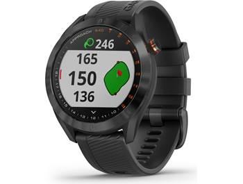 on a Garmin Approach® S40 GPS golf watch