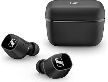 on Sennheiser true wireless headphones