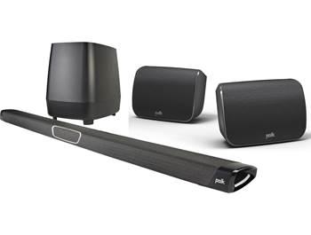 on Polk MagniFi Max + SR1 5.1-channel sound bar system
