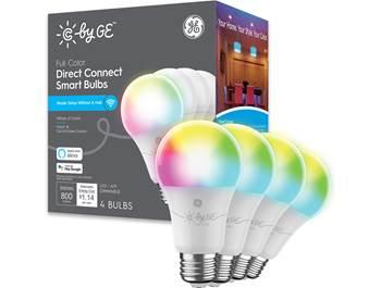 on GE smart lights