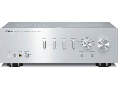 yamaha a s501 silver stereo integrated amplifier with. Black Bedroom Furniture Sets. Home Design Ideas
