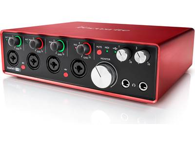Focusrite Scarlett 18i8 (Second Generation)
