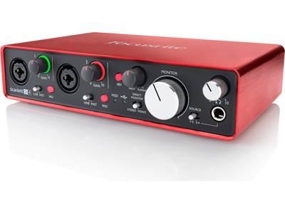 Focusrite Scarlett 2i2 (Second Generation) USB 2 0 audio