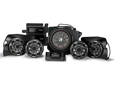 Kicker/SSV Works 44PRZ35 5-speaker System