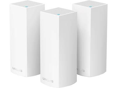 Linksys Velop Wi-Fi 5 Tri-band System (3-pack)