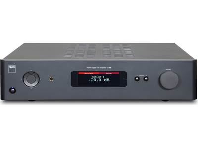 NAD C 338 Stereo integrated amplifier with built-in DAC, Wi