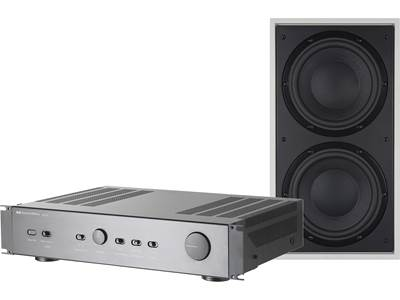 Bowers & Wilkins ISW4 and SA250 Mk2 Bass Package
