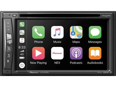 Pioneer AVIC-5201NEX Navigation receiver at Crutchfield