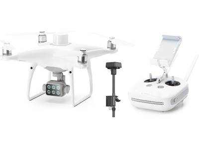 DJI P4 Multispectral Drone with Ground Station