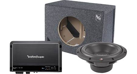 Rockford Fosgate 250-Watt Bass Package