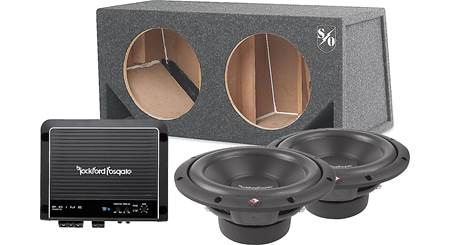 Rockford Fosgate 500-Watt Bass Package