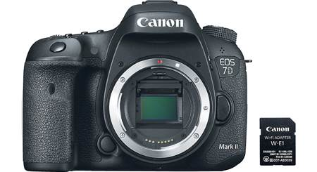 Canon EOS 7D Mark II Wi-Fi® Kit (no lens included)