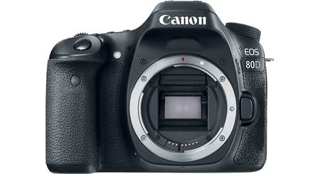 Canon EOS 80D (no lens included)