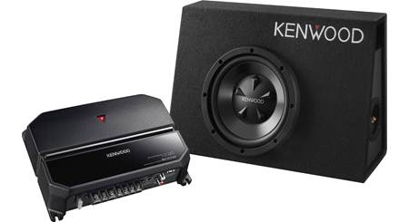 Kenwood P-W101B 170-watt Bass Package
