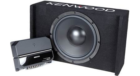 Kenwood P-W121B 170-watt Bass Package