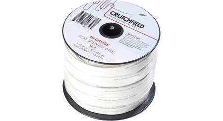 Crutchfield Flat Speaker Wire
