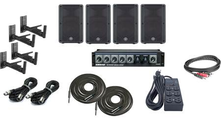 Yamaha High Output Gym Sound System Bundle
