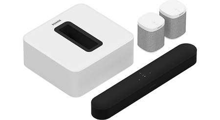 Sonos Beam 5.1 Home Theater System with Play:1 Speakers