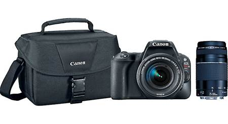 Canon EOS SL2 Two Lens Holiday Bundle