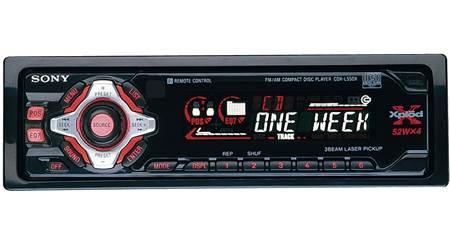 Sony CDX-L600X CD Receiver at CrutchfieldCrutchfield
