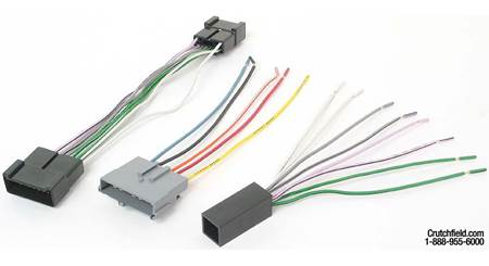 Metra 70-5004 Receiver Wiring Harness