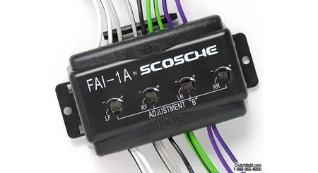 Scosche Cha02 Wiring Interface Allows You To Connect A New